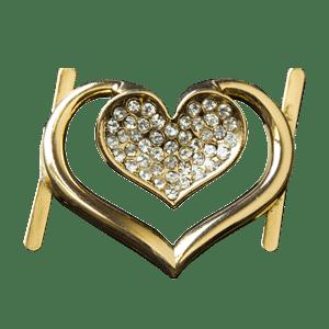 Applicazione cuore dorato