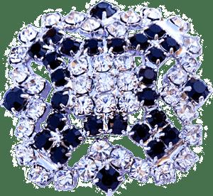 Bottone gioiello brillante