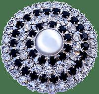 Bottone con perla