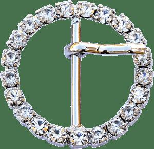 Fibbia diamantata