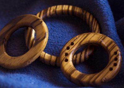 Accessorio legno circolare