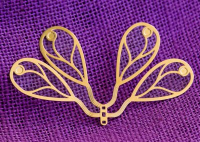 Farfalla in ottone