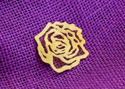 Rosa in ottone