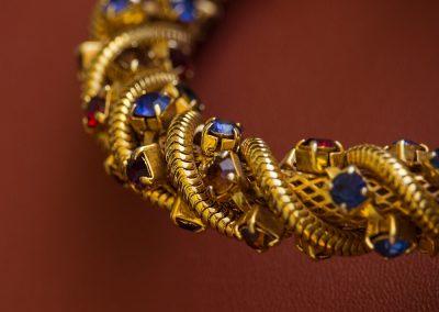 Bracciale oro con saldature