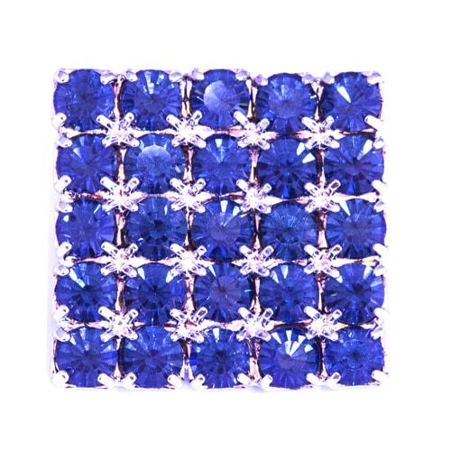 Bottone pietre blu