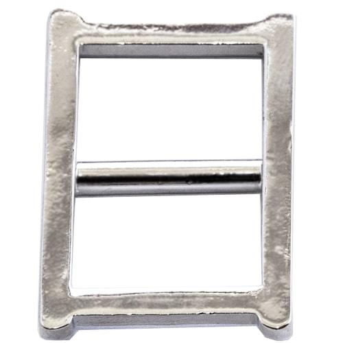Fibbia squadrata in argento