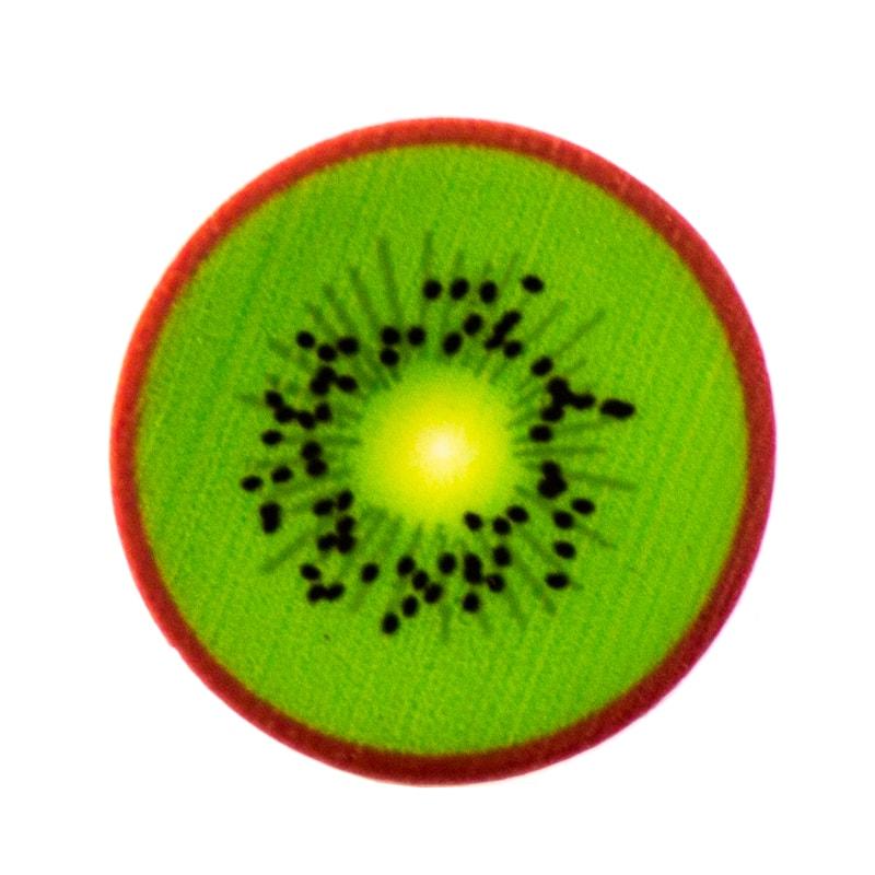 Applicazione kiwi in plastica