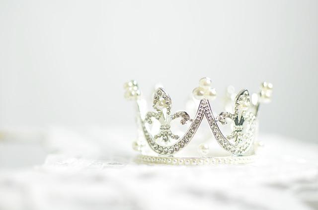 Corona con strass